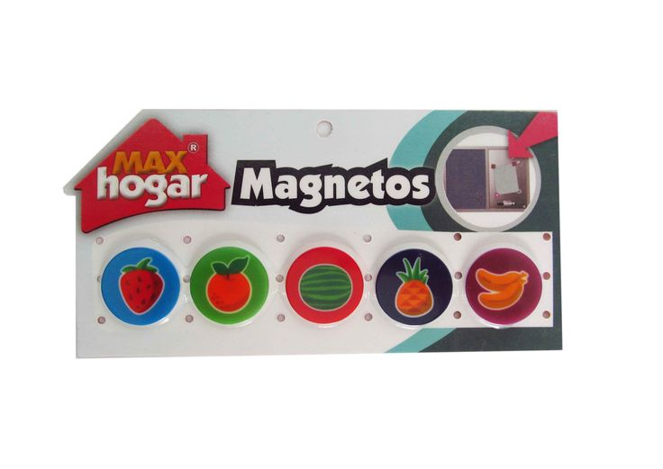 Magnetos Frutas decorativas para la Nevera