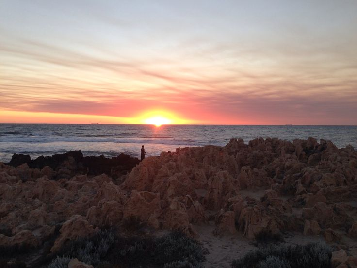Sunset at Scarborough Beach
