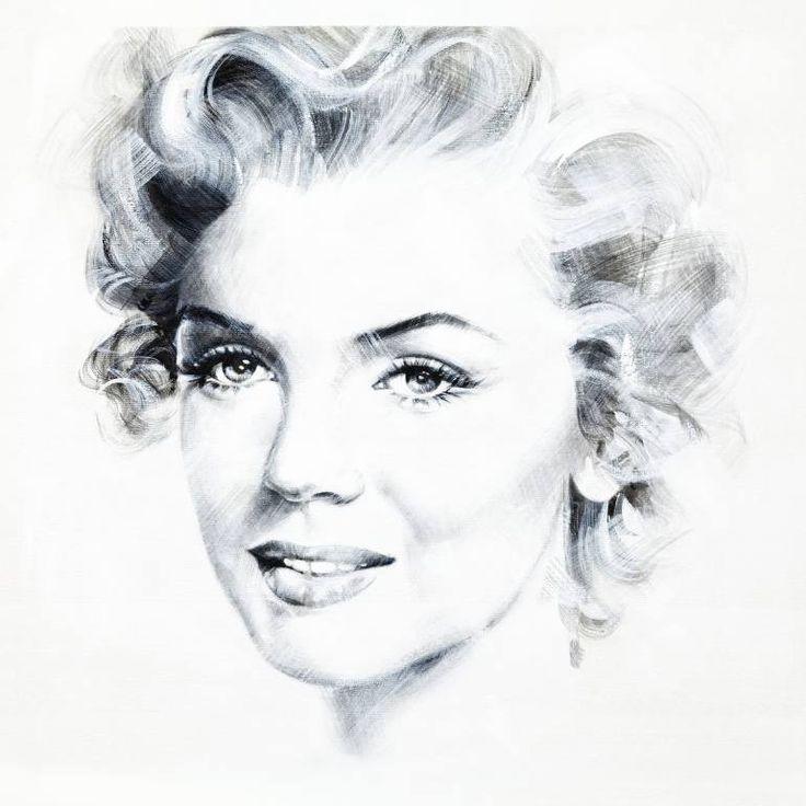 "Saatchi Art Artist Jean Pierre Rousselet; Painting, ""Marilyn Four"" #art"