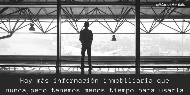 Frase de marketing inmobiliario de Carlos Rentalo