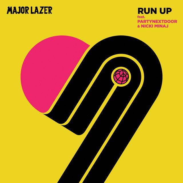"""Run Up"" by Major Lazer PARTYNEXTDOOR Nicki Minaj added to Today's Top Hits playlist on Spotify From Album: Run Up"