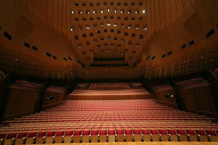The interior of Sydney Opera House