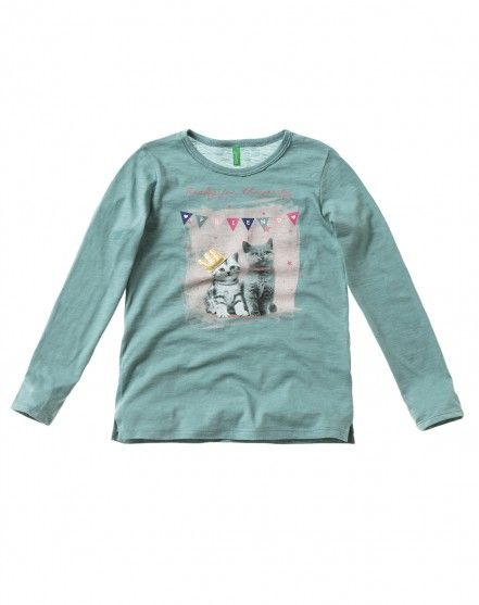 Jersey estampado - PREPPY FALL - NIÑO