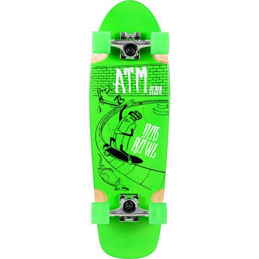 ATM Dog Bowl Cruiser Complete (Green/8.9) $99.95