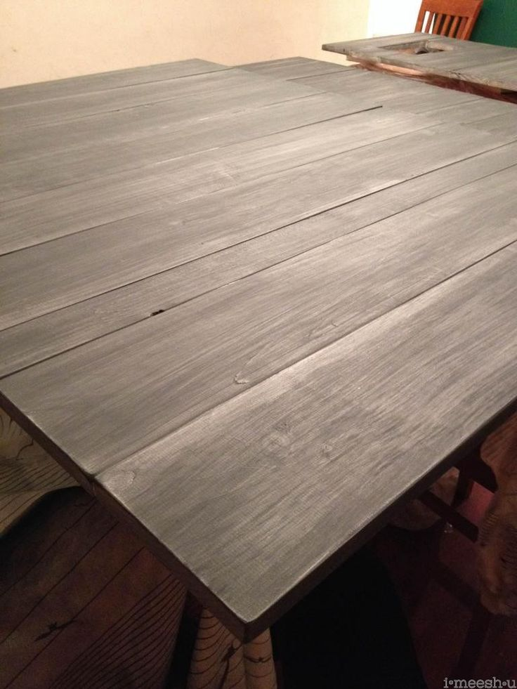 Restoration Hardware finish | matte varnish over annie sloan chalk paint restoration hardware finish