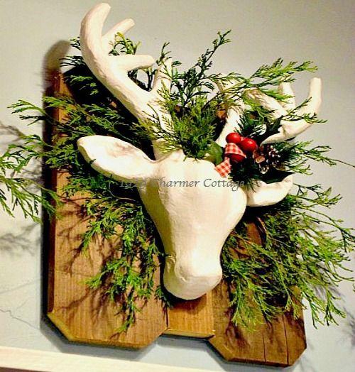 DIY Paper Mache Deer Head