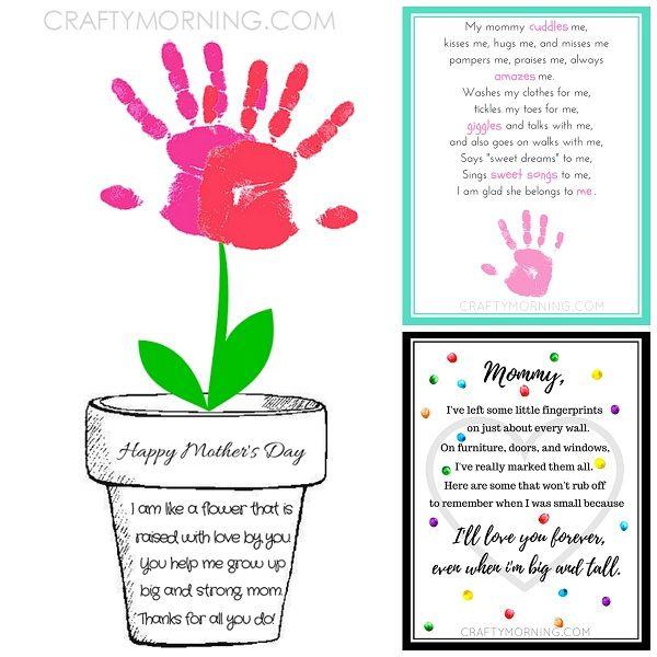 9 free mother 39 s day printables poems posts fingerprints and keepsakes. Black Bedroom Furniture Sets. Home Design Ideas