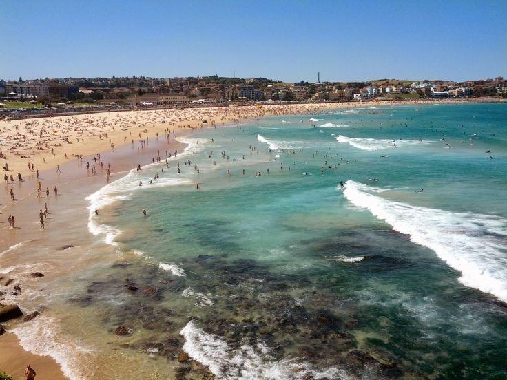 Bondi Plajı (Sidney, Avustralya)  #bkmtur #plaj #bondi #sidney #avustralya