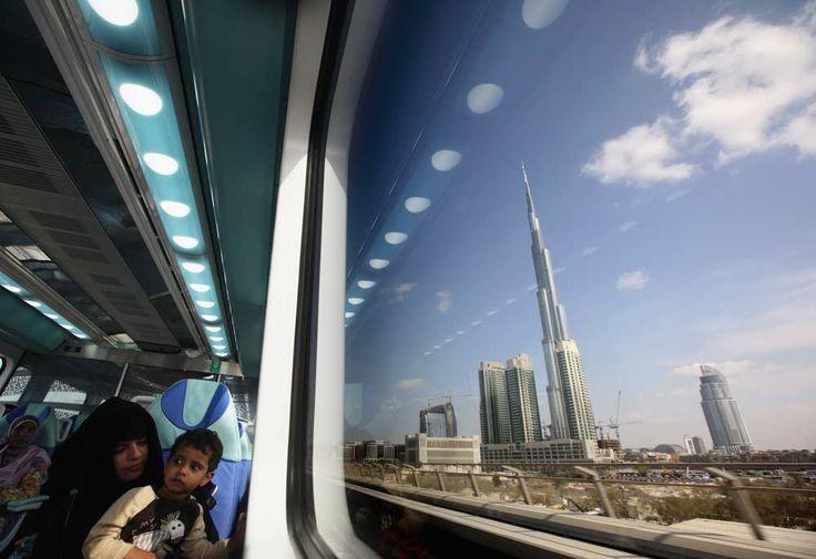 Burj Khalifa Metro Perspective