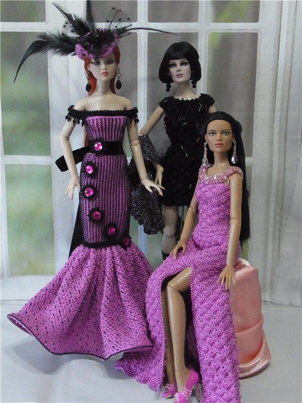 Новые наряды для кукол Тоннер / Одежда и обувь для кукол своими руками / Бэйбики. Куклы фото. Одежда для кукол