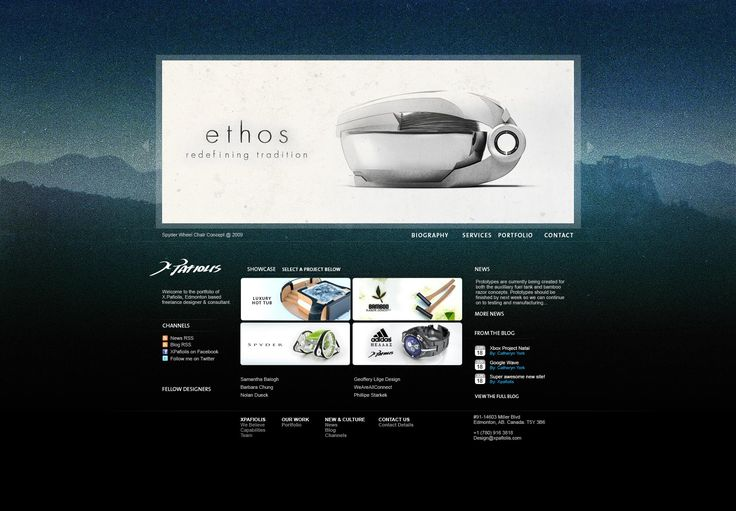 This was the previous website portfolio for xpafiolis.com which was developed in 2008. The website was upgraded later in 2009 to a different...