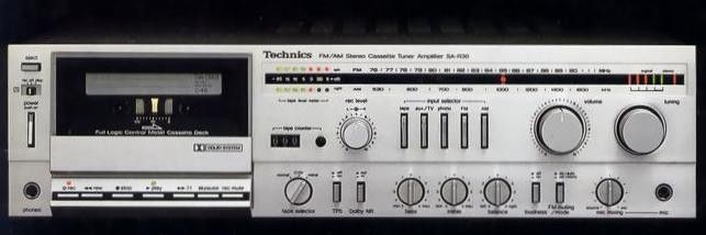 Technics SA-R30 (launched 1981)