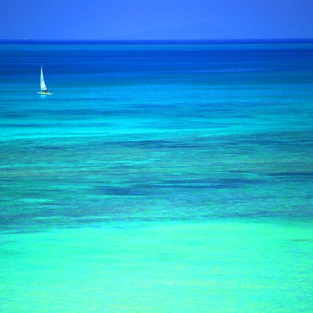 kumejima's blue.