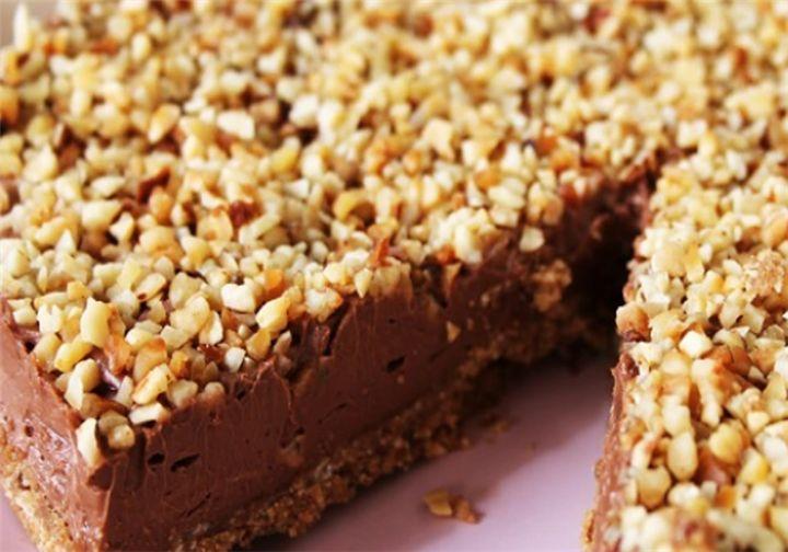 Πανεύκολο Cheesecake Νουτέλας με φουντούκια - Filenades.gr