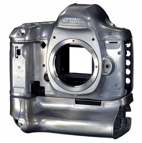 Magnesium body of Canon EOS 5D Mark III