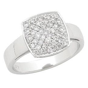 Beautiful Pave Set Diamond Dress Ring