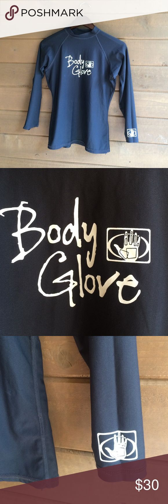 Body Glove rash guard Body Glove rash guard. Great for water sports. Size L. Great sun protection in the water. Color: black. Body Glove Tops