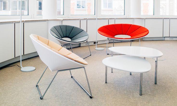 Ellipse chair, design Timo Ripatti. Finnish Embassey, Bruxelles