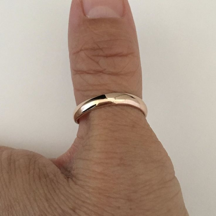 Rose Gold Plated Sterling Silver Thumb Ring