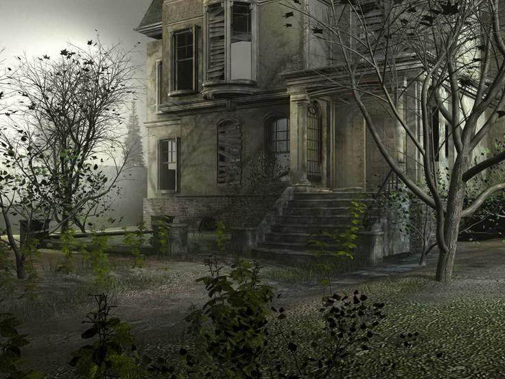 inside old abandoned mansions | Poze Case Bantuite Wallpaper Casa cu Fantome