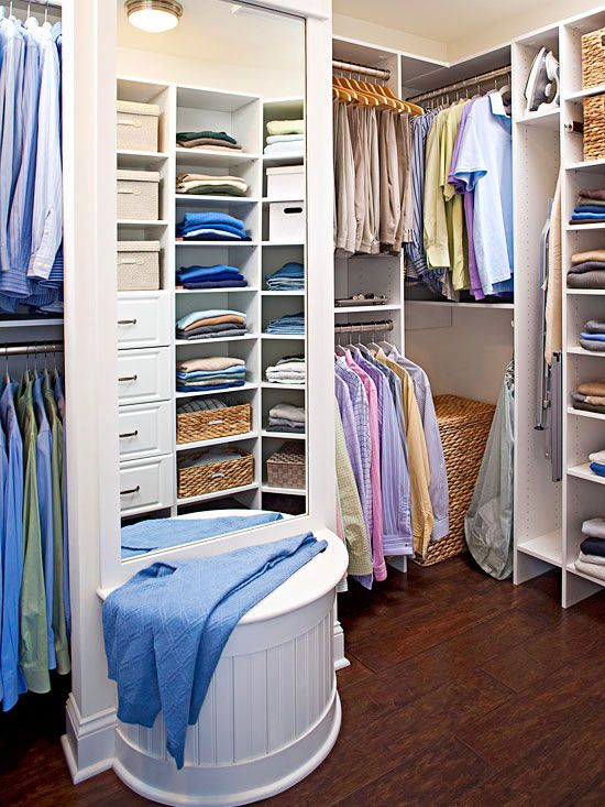 351 Best Images About Closets On Pinterest Closet Organization Walk In Clo