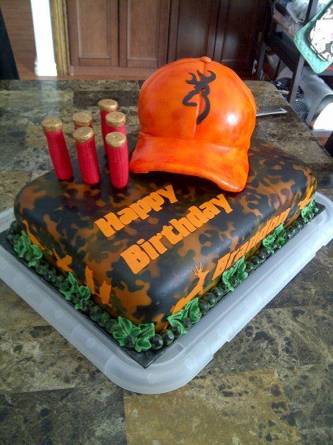 hunting fishing birthday cake - Google Search