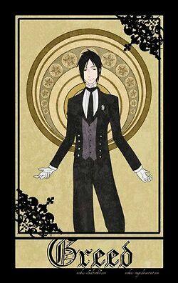 Black butler meets fullmetal alchemist-greed