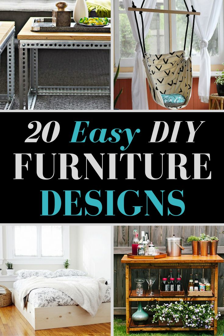 20 Insanely Easy Ways To Build Your Own Furniture