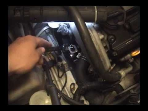 how to change the rear housing from alternator