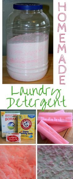A homemade powder Laundry Detergent recipe using only 3 ingredients! Tough on stains but gentle on your clothes. Works great!