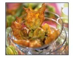 Beignets de fleurs de courgettes (facile, rapide) - Une recette CuisineAZ