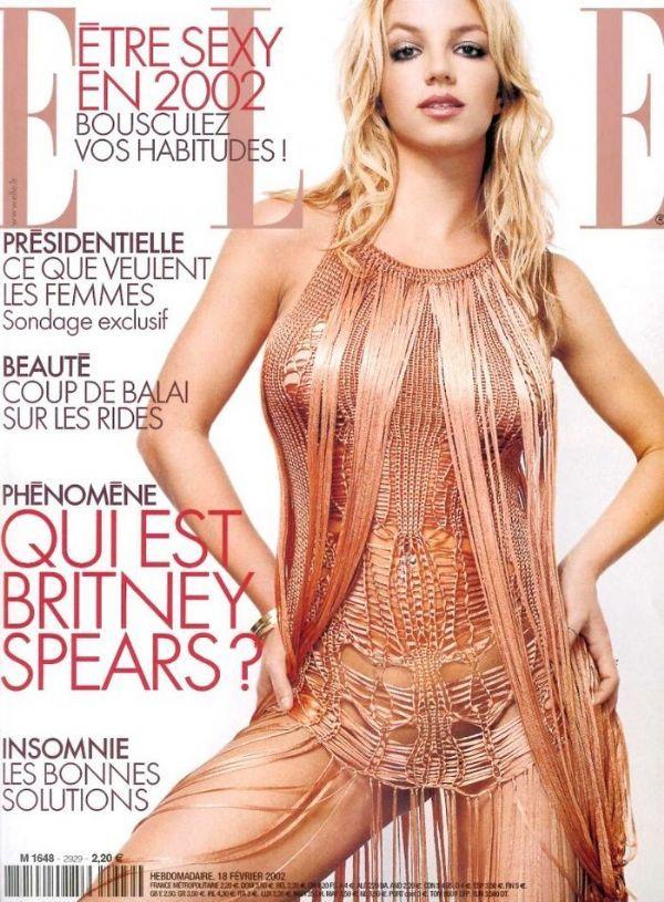 Britney Spears - Elle Magazine [France] (18 February 2002)
