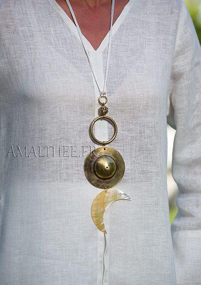 Bridal jewel: Yin and Yang talisman, Cosmic Union between The Sun and The Moon