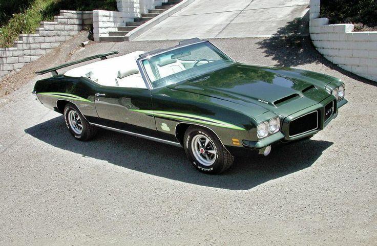 1971 Pontiac Gto Judge Convertible Photo 14
