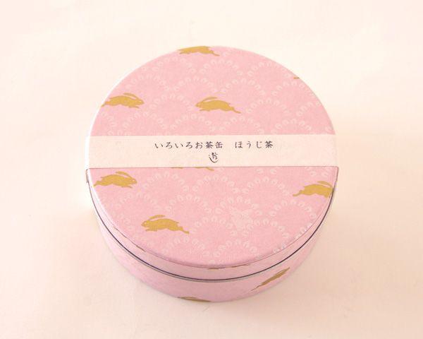 【いろいろお茶缶 因幡の兎】【包装】【のし】