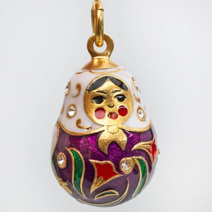 88 best faberge style eggs and gifts images on pinterest faberge nesting doll faberge egg pendant negle Images
