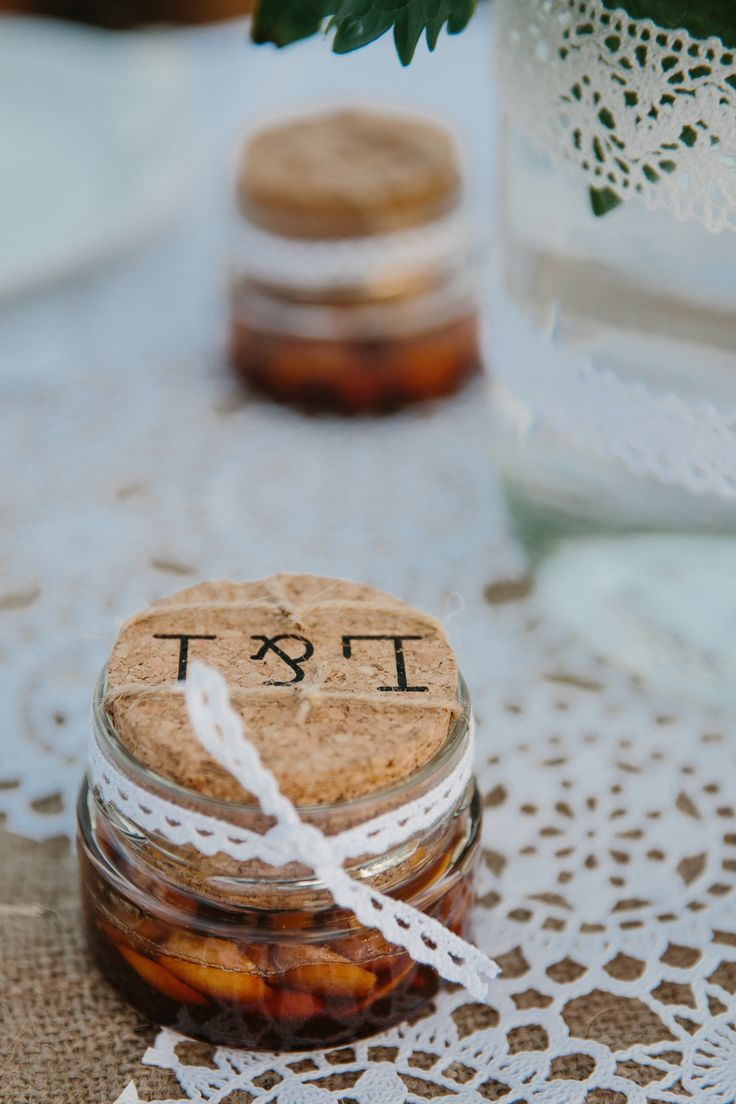 A wedding on Anafi Island | lafete, wedding favor, Greek honey, dentelle, Greek bomboniera