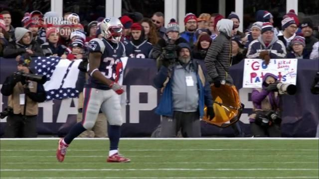 Shoe-less running back Dion Lewis drives New England Patriots past Buffalo Bills | 'NFL Turning Point'