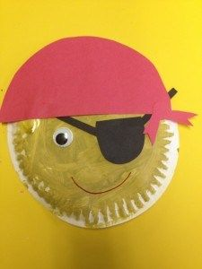 preschool pirate craft