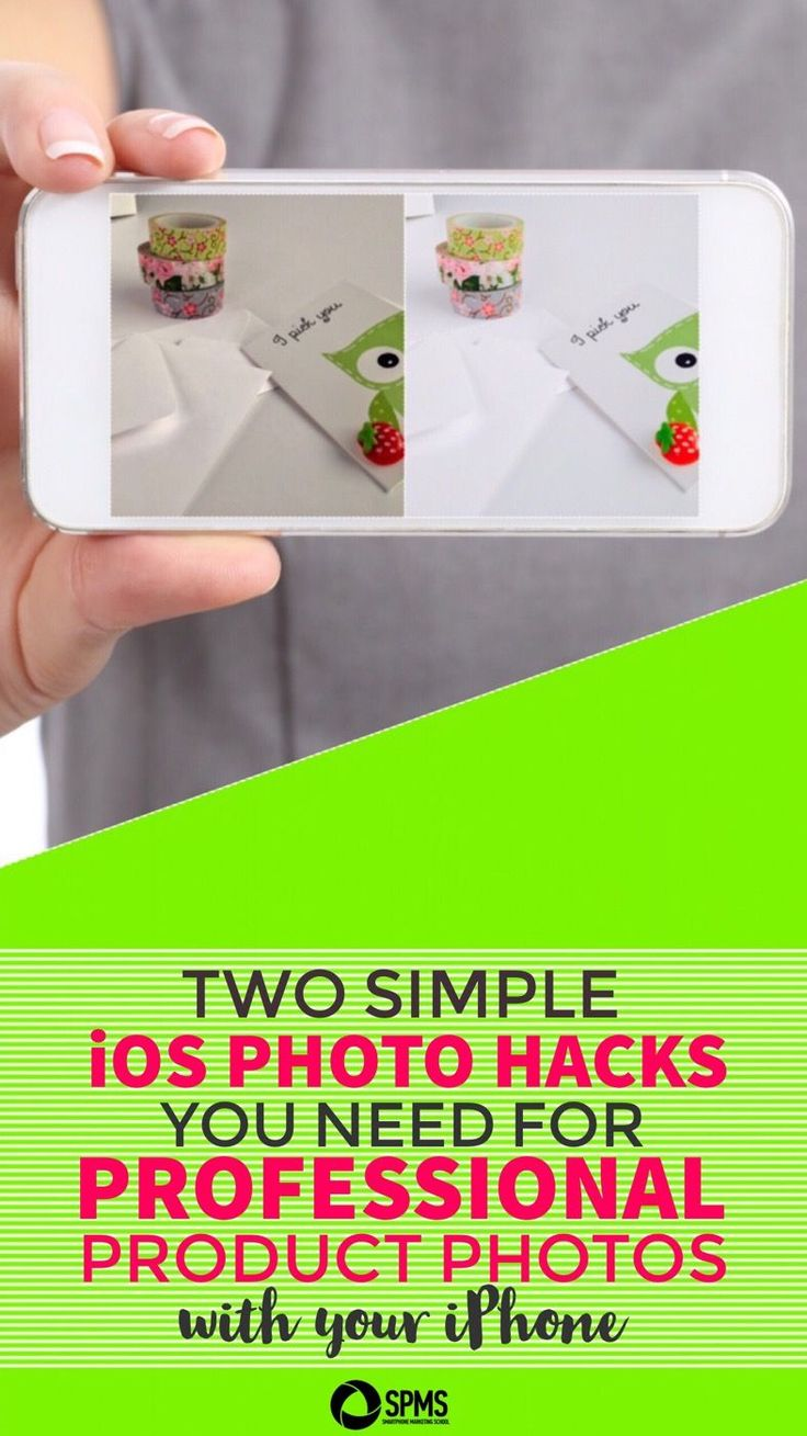 These two easy tips make a WORLD of difference in your photos & they're right in the iOS Photos app!