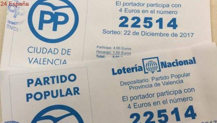 El PP jugará el mismo número de Lotería de Navidad que el de la cuenta investigada en el caso Taula