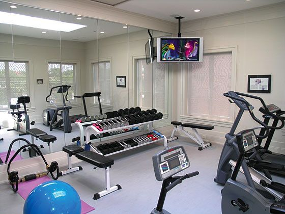 20 best home gym images on pinterest - Gimnasios en casa ...