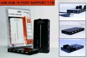 usb hub 10 port