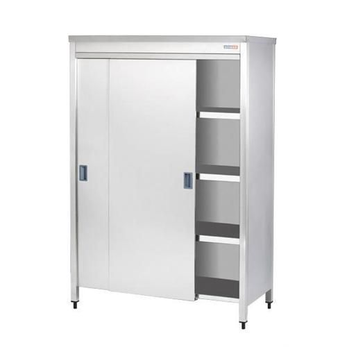 Pan Cupboard With Sliding Doors And 3 intermediate Shelves