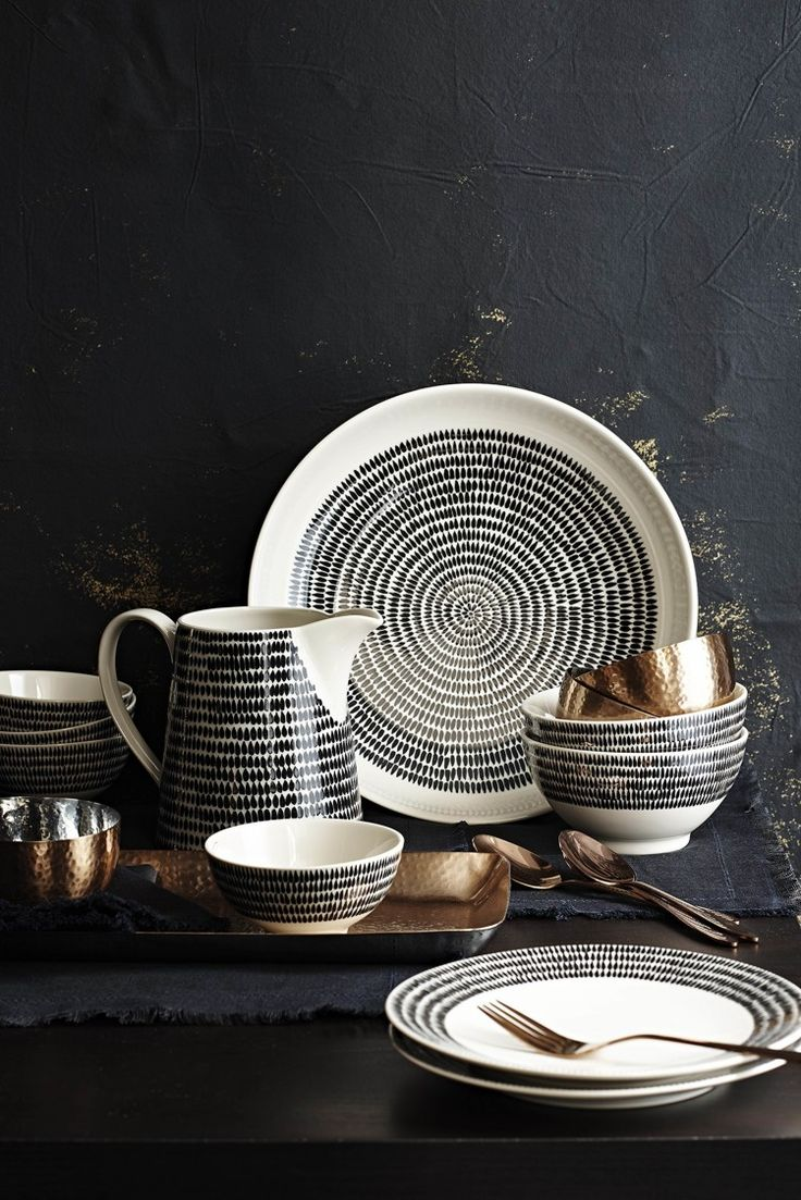 This is the new collection from Sainsburys that will be in store by the end of February. Now you know I love a bit of black and white crockery and this, with its echoes of Marimekko, is stunning, n…