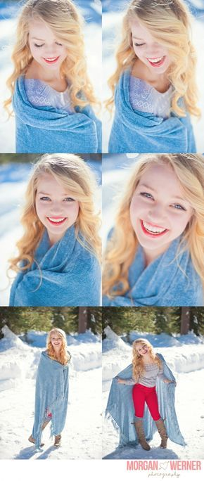Morgan Werner Senior Photography | Senior in the Snow - amazing senior photography!!