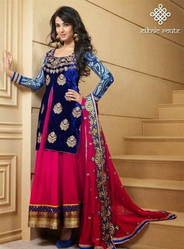 FASHION: Best Designer Anarkali Suits | Party Dresses | Estilo