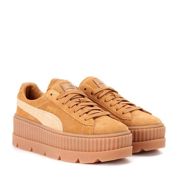 Fenty by Rihanna - Sneakers Cleated Creeper aus Veloursleder