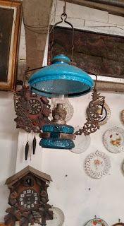 antiQue Bekasi: lampu ayam kristal original