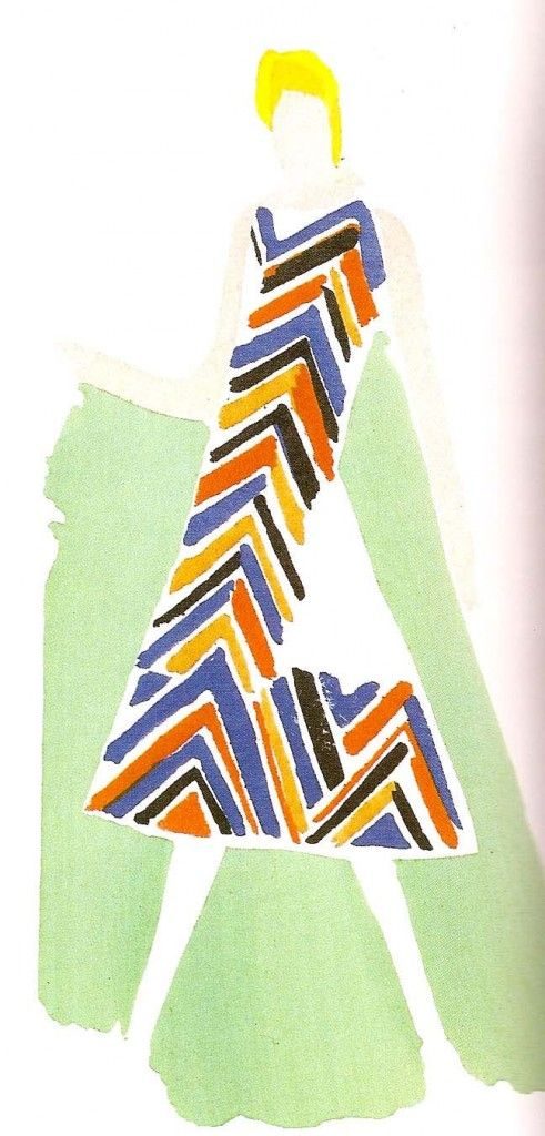 Sonia Delaunay fashion design.